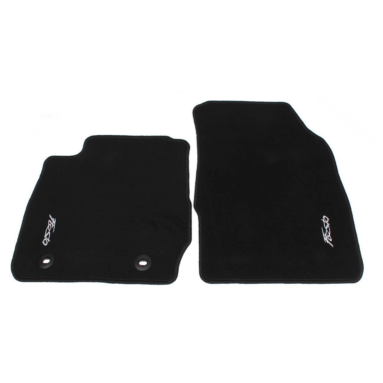 ORIGINAL Ford Textilmatten Fußmatten Automatten Satz Fiesta VI MK6 VORNE 1553625