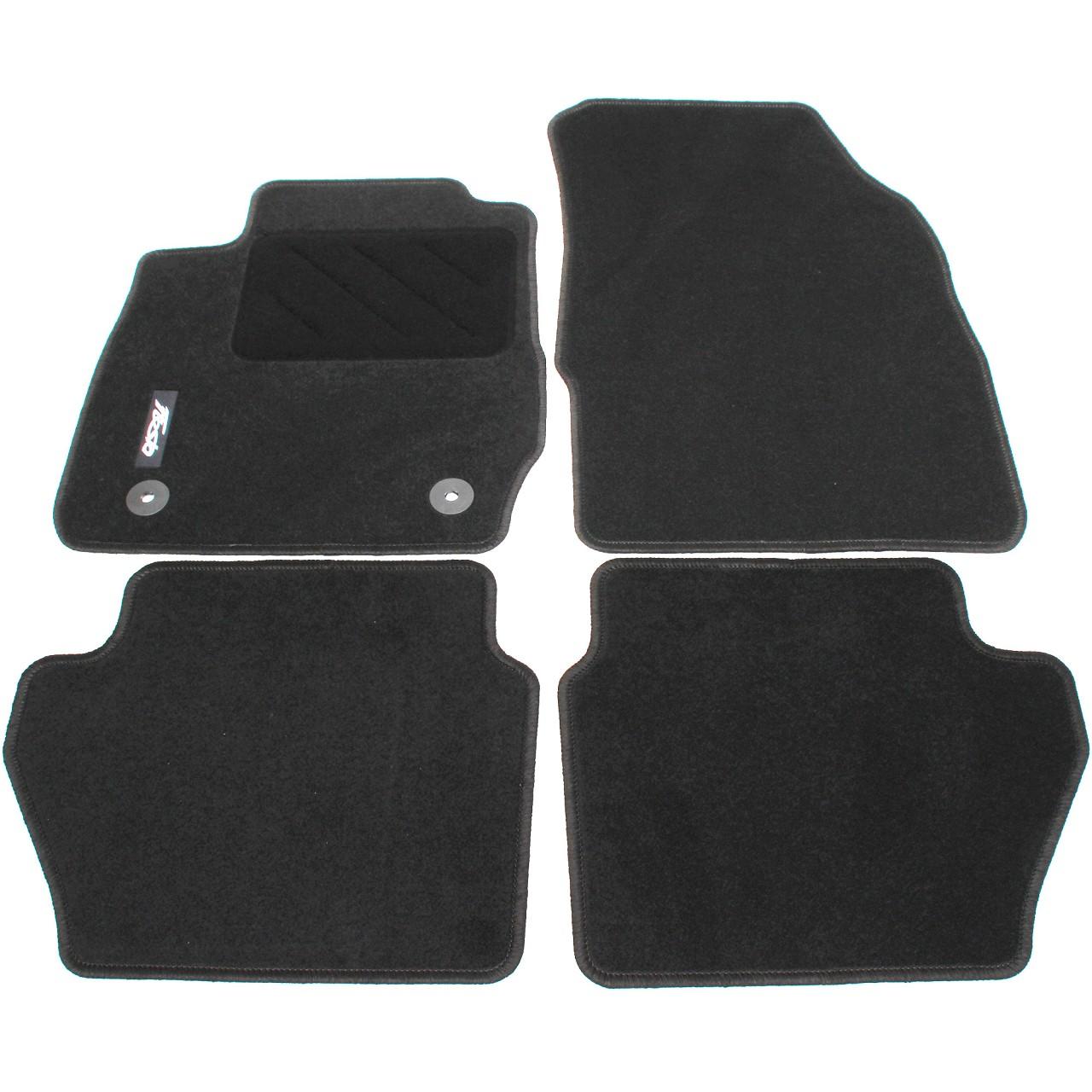 ORIGINAL Ford Textilmatten Fußmatten Satz 4-TLG 1947555 für FIESTA VI ab 02.2011