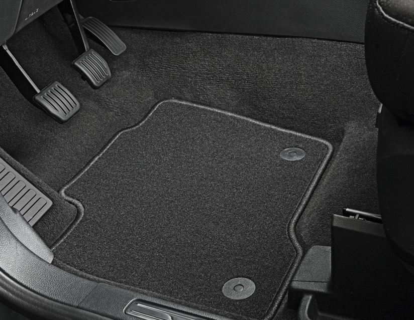 ORIGINAL Ford Textilmatten Fußmatten Satz GALAXY S-MAX vorne 2-tlg 2169452
