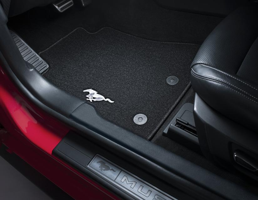ORIGINAL Ford USA Textilmatten Fußmatten Automatten Satz Mustang vorne 2422486
