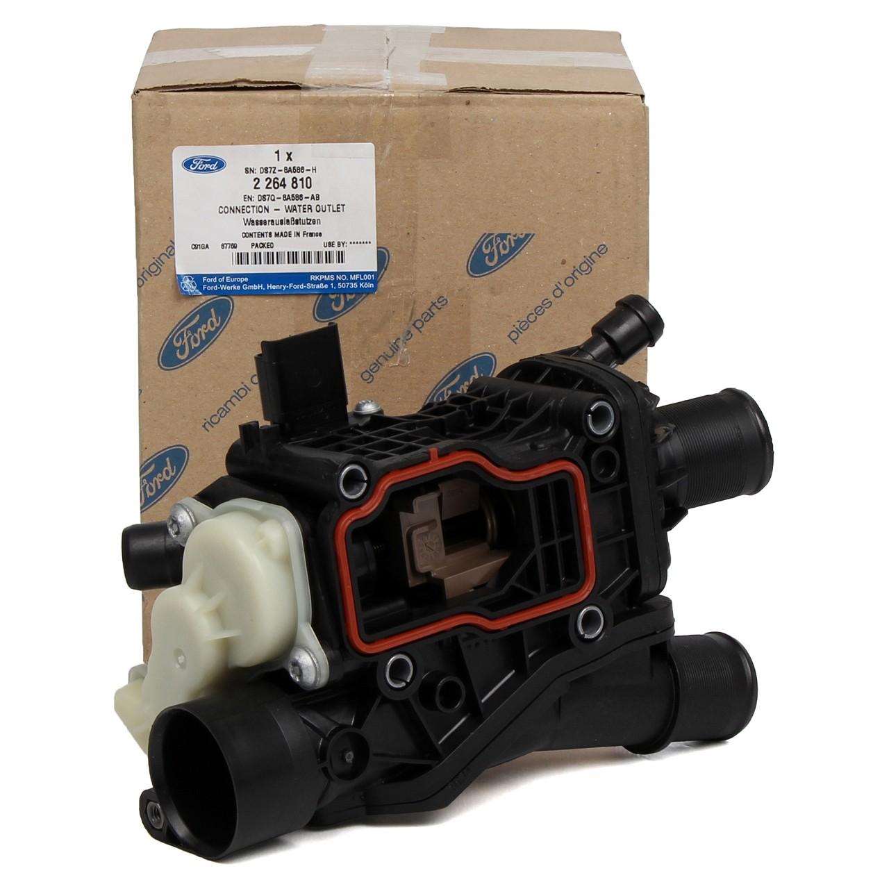 ORIGINAL Ford Thermostatgehäuse C-MAX II FOCUS III MONDEO V 2.0 TDCi 2264810