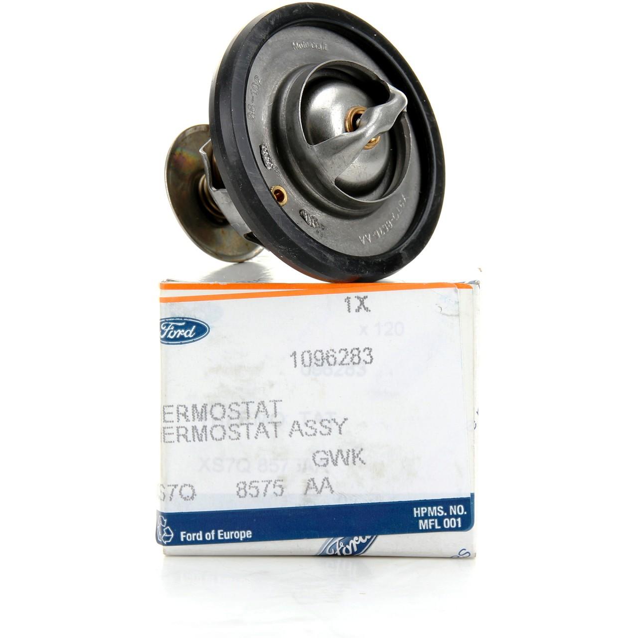 ORIGINAL Ford Thermostat MONDEO 3 RANGER TKE TOURNEO CUSTOM TRANSIT TCi 1096283