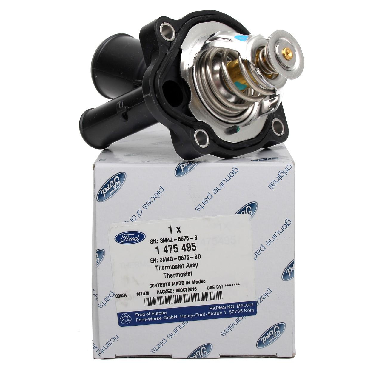 ORIGINAL Ford Thermostat + Gehäuse MONDEO IV GALAXY S-MAX (WA6) 2.3 1475495