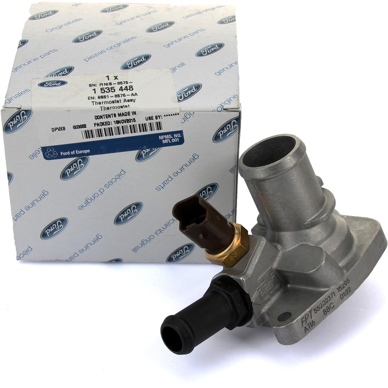 ORIGINAL Ford Thermostat Kühlmittelthermostat KA (RU8) 1.2 69 PS 1535448