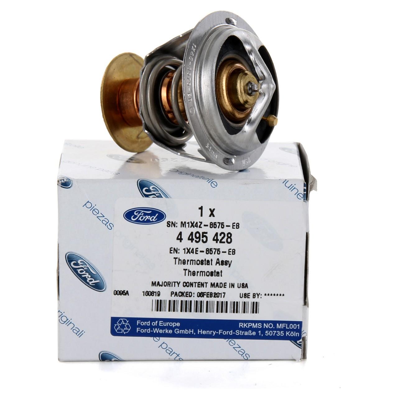 ORIGINAL Ford Thermostat COUGAR MAVERICK MONDEO I II III 2.5/3.0 V6 4495428