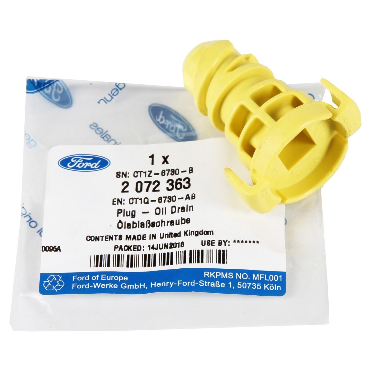 ORIGINAL Ford Ölablassschraube Verschlussschraube Ölwanne 2072363