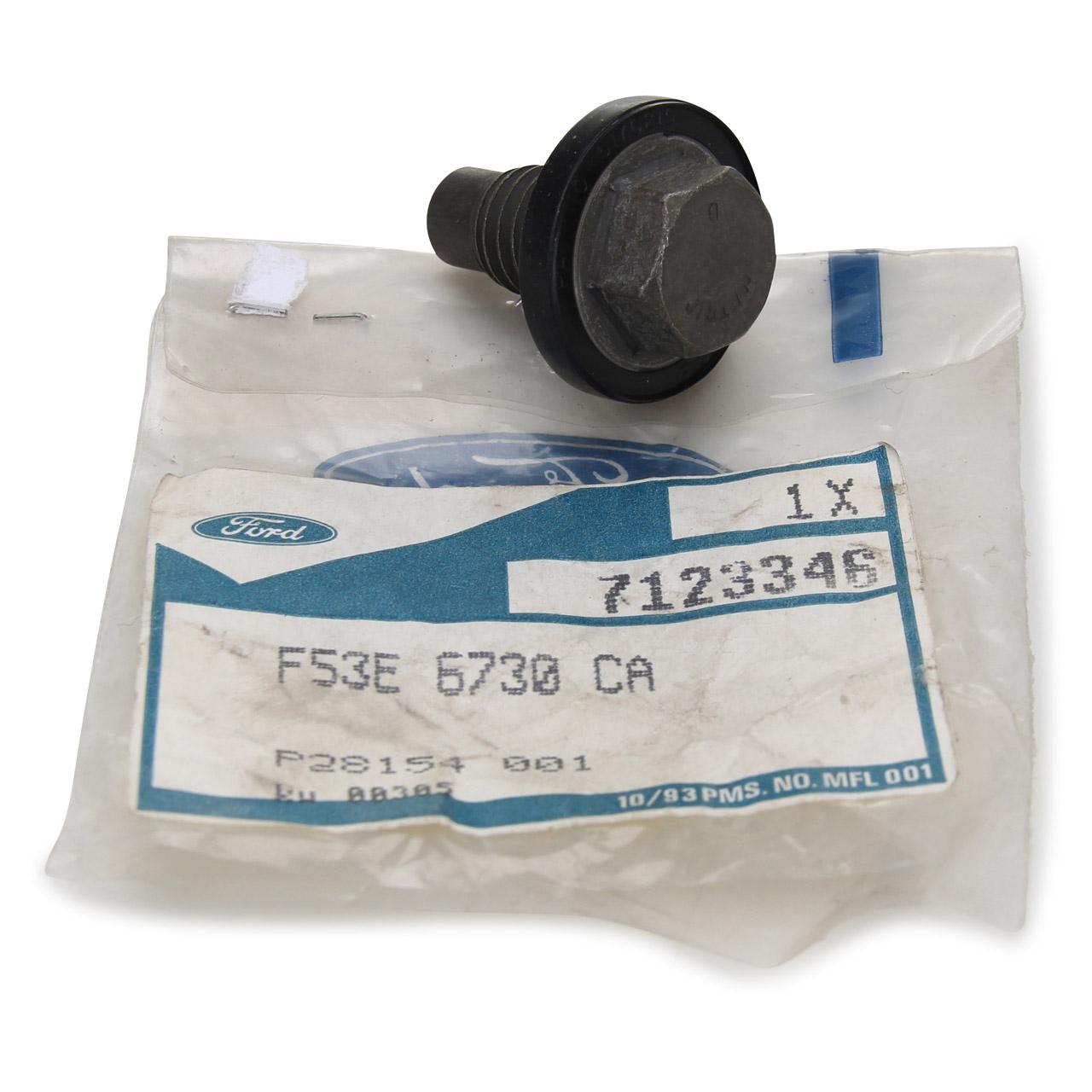 ORIGINAL Ford Ölablassschraube Verschlussschraube Ölwanne M12x1,75mm 7123346