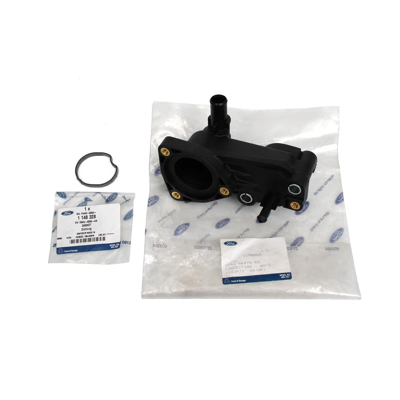 ORIGINAL Ford Wasserflansch Thermostatgehäuse FOCUS C-MAX MONDEO 1.8TDCi 1198060