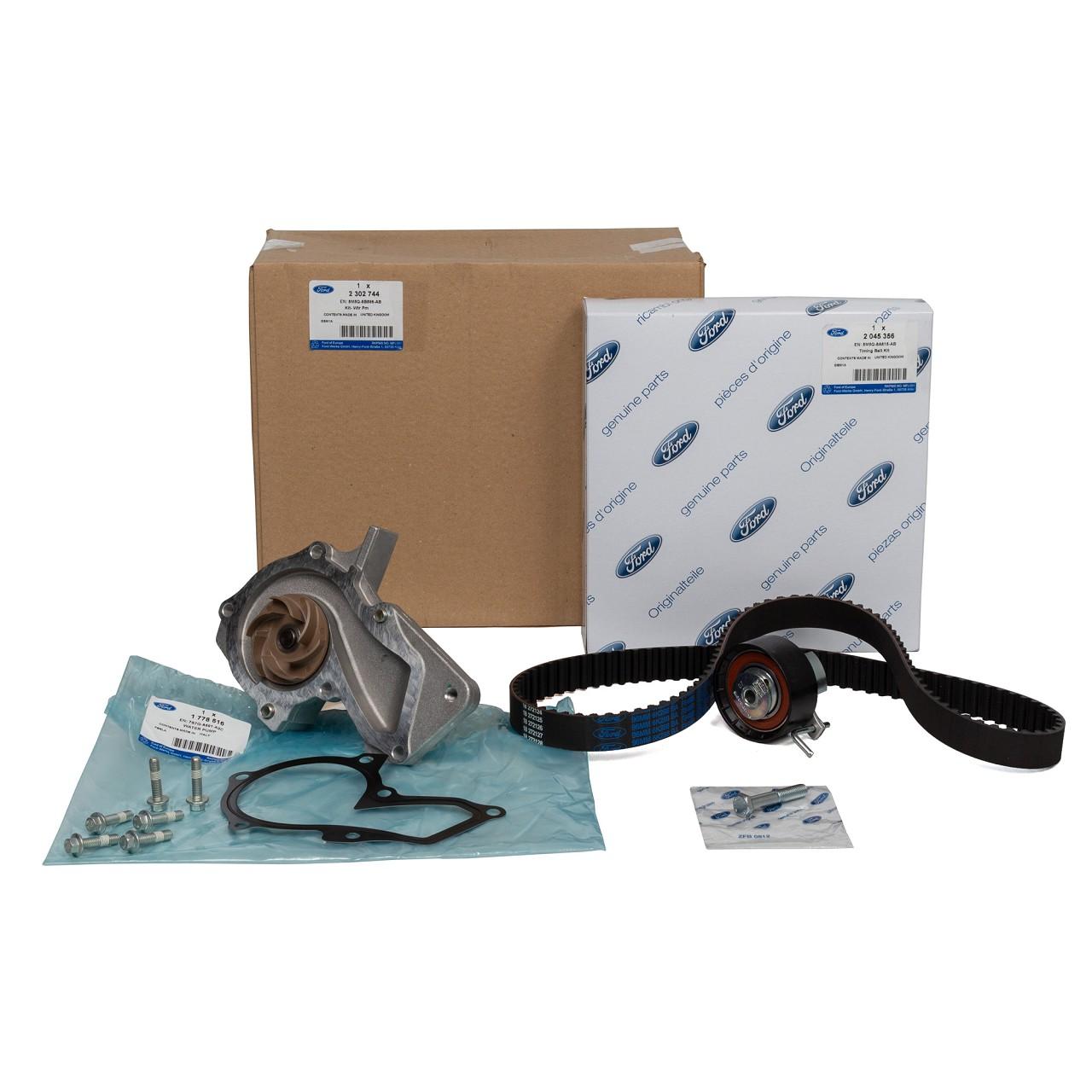 ORIGINAL Ford Zahnriemensatz + Wasserpumpe B-MAX FIESTA 5 6 FOCUS 2 3 2302744