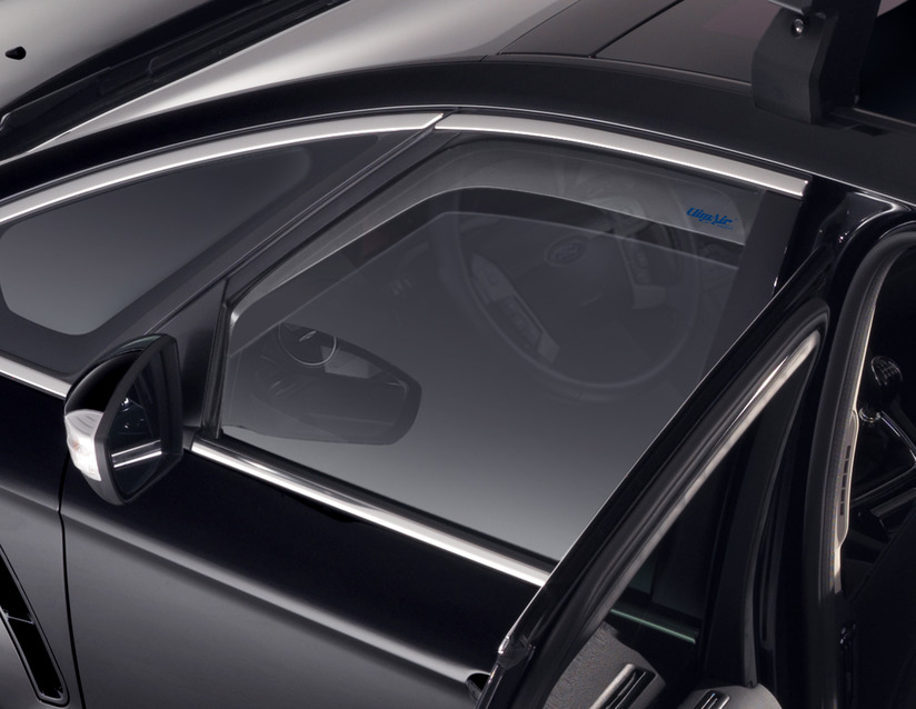 ORIGINAL Ford CLIMAIR Windabweiser Seitenfenster Satz VORNE 1717220 S-MAX WA6