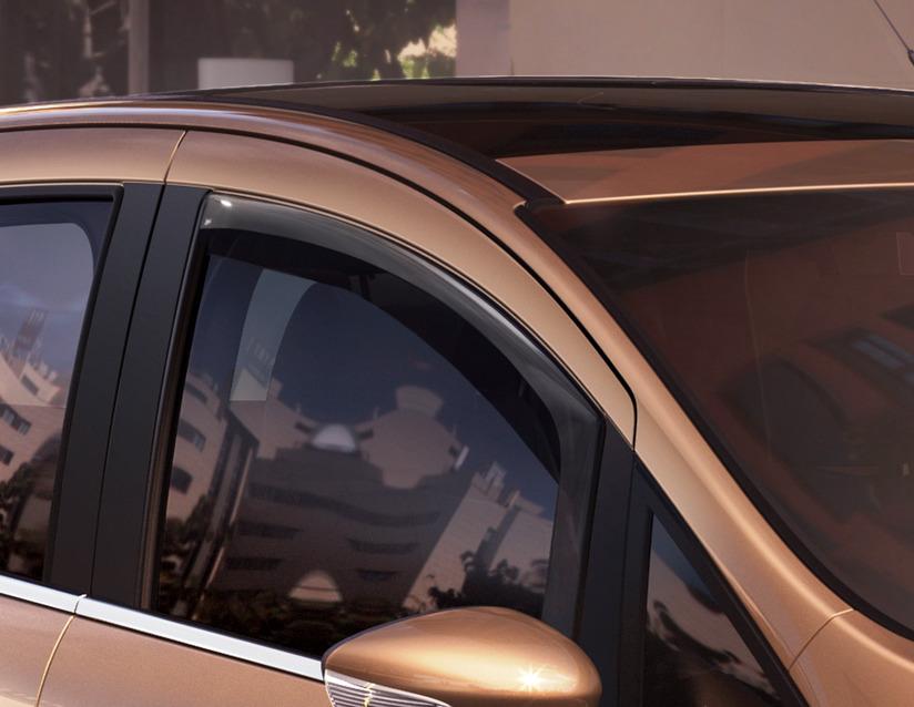 ORIGINAL Ford CLIMAIR Windabweiser Seitenfenster Satz VORNE 1803462 für B-MAX