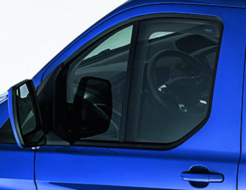 ORIGINAL Ford CLIMAIR Windabweiser Seitenfenster Satz VORNE 1815015 für CUSTOM