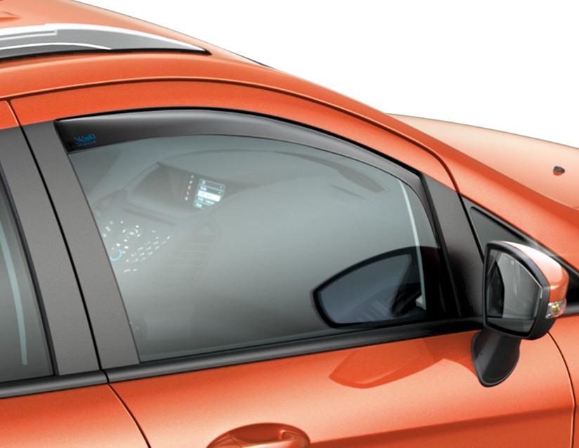 ORIGINAL Ford CLIMAIR Windabweiser Seitenfenster Satz VORNE 1852672 für ECOSPORT