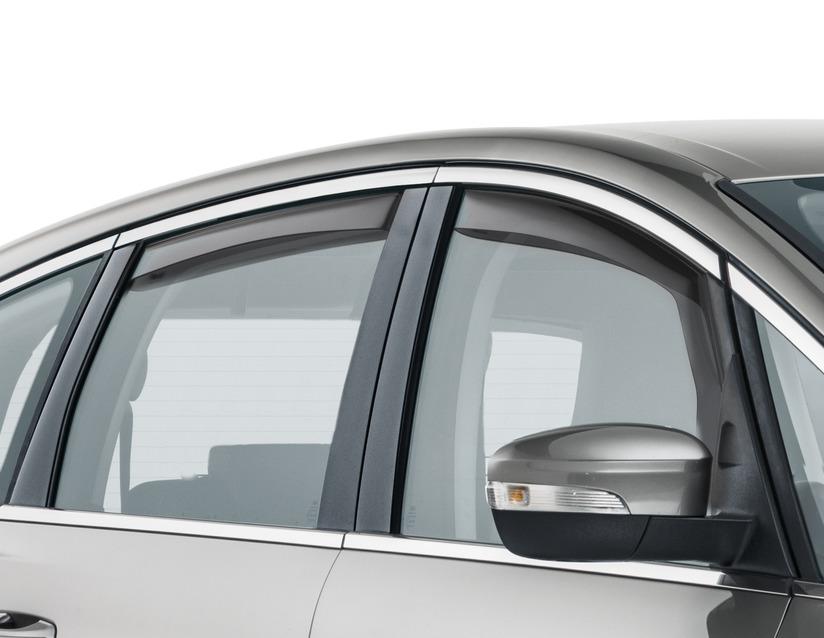 ORIGINAL Ford CLIMAIR Windabweiser Seitenfenster Satz VORNE 1927034 für S-MAX