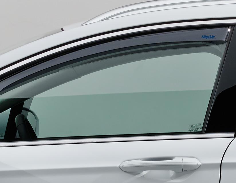 ORIGINAL Ford CLIMAIR Windabweiser Seitenfenster Satz VORNE 2104611 für MONDEO V