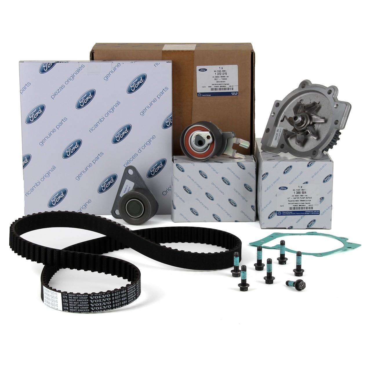 ORIGINAL Ford Zahnriemensatz + Wasserpumpe Focus II ST RS Mondeo Kuga S-Max 2.5