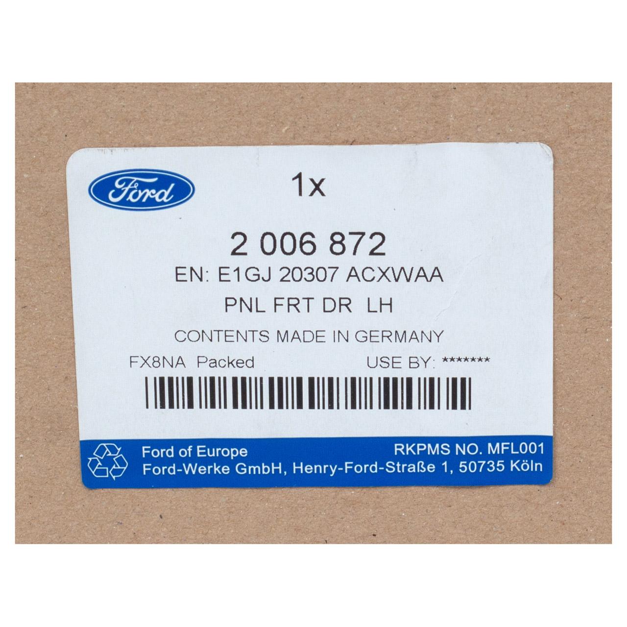 ORIGINAL Ford Seitenschürze Seitenschweller VORNE LINKS 2006872 S-MAX ab 2015