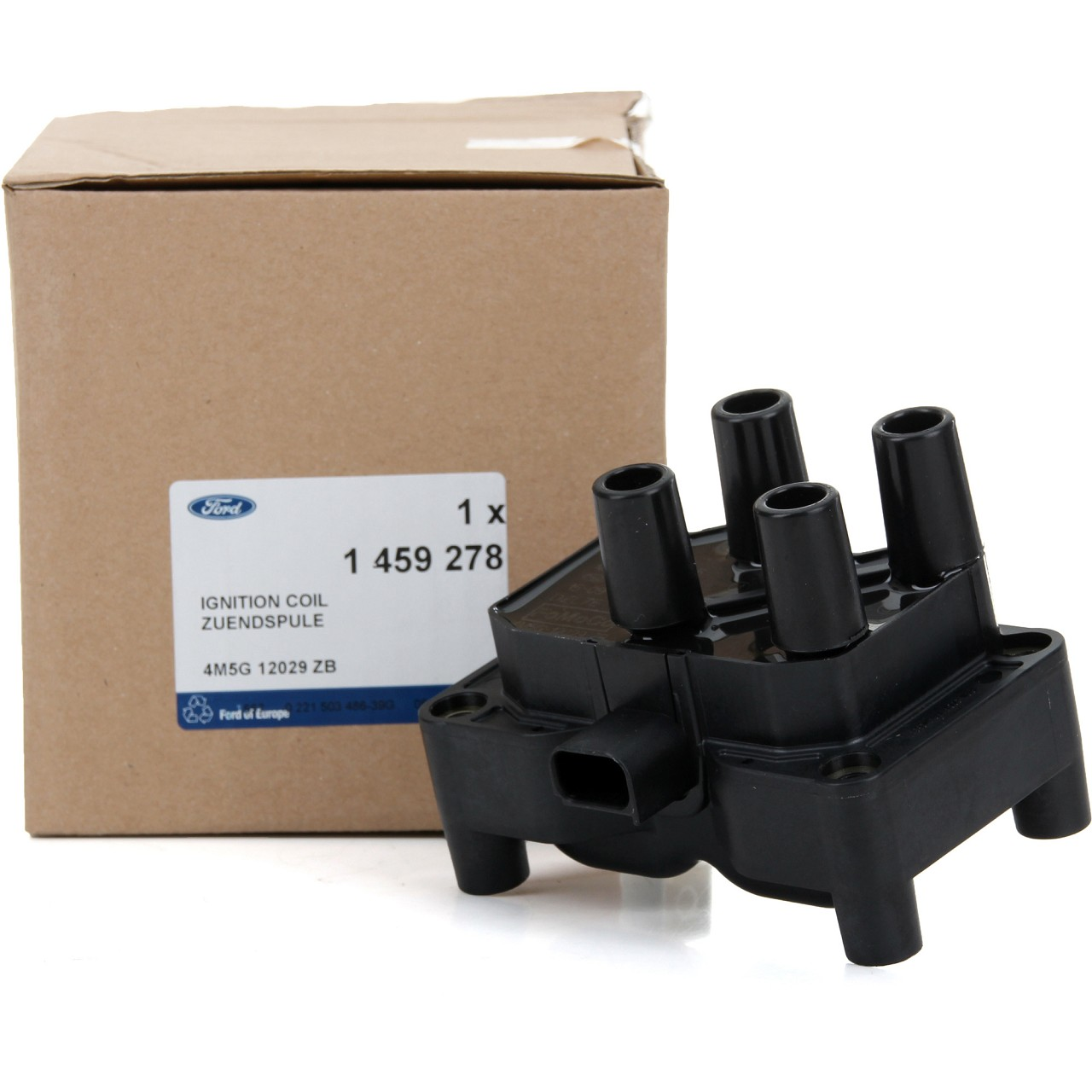 ORIGINAL Ford Zündspule Zündmodul 3-polig B-/C-MAX FIESTA FOCUS MONDEO 1459278