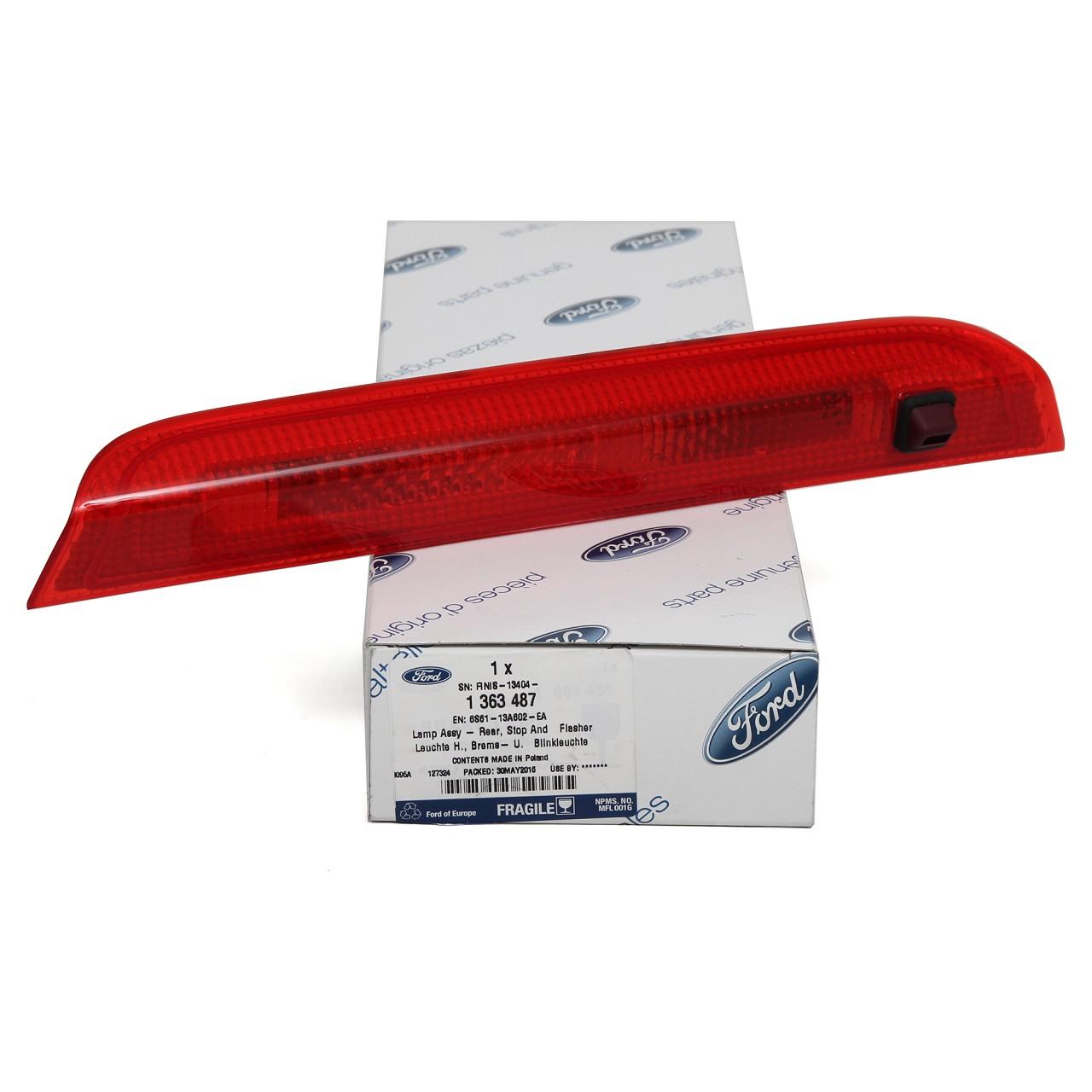 ORIGINAL Ford Zusatz- 3. DRITTE Bremsleuchte Bremslicht FIESTA V MK5 1363487
