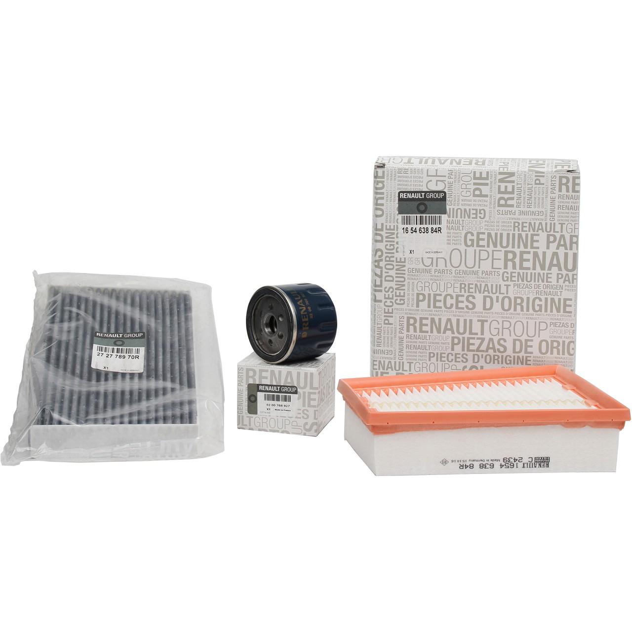 ORIGINAL Renault Inspektionskit Filterpaket MEGANE III 2.0TCe / RS 180-265 PS