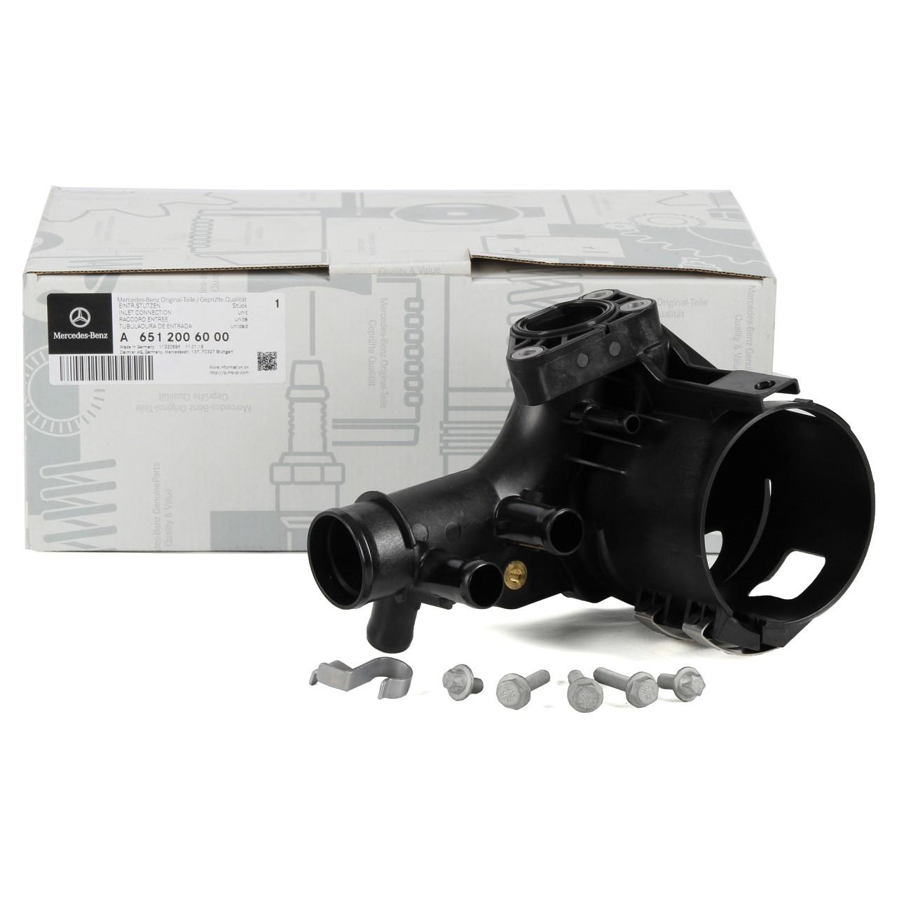 ORIGINAL Mercedes Wasserablaufstutzen Kraftstofffiltergehäuse OM651 6512006000