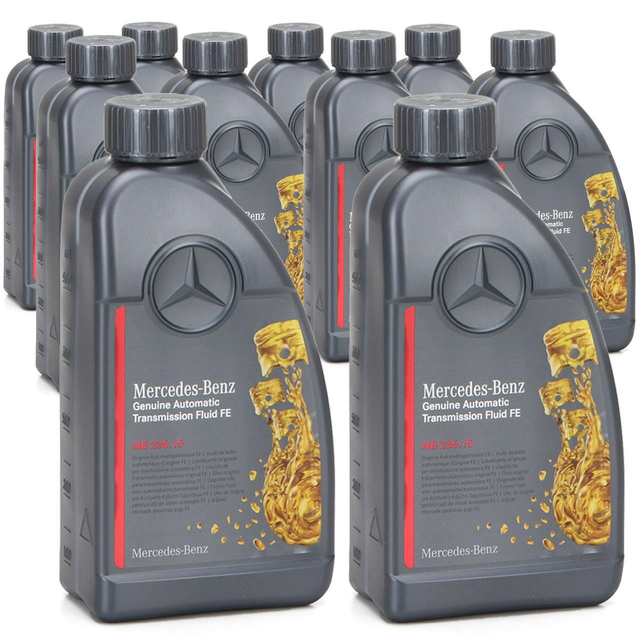 ORIGINAL Mercedes Automatikgetriebeöl MB 236.15 ATF 000989690511AULE 10 Liter