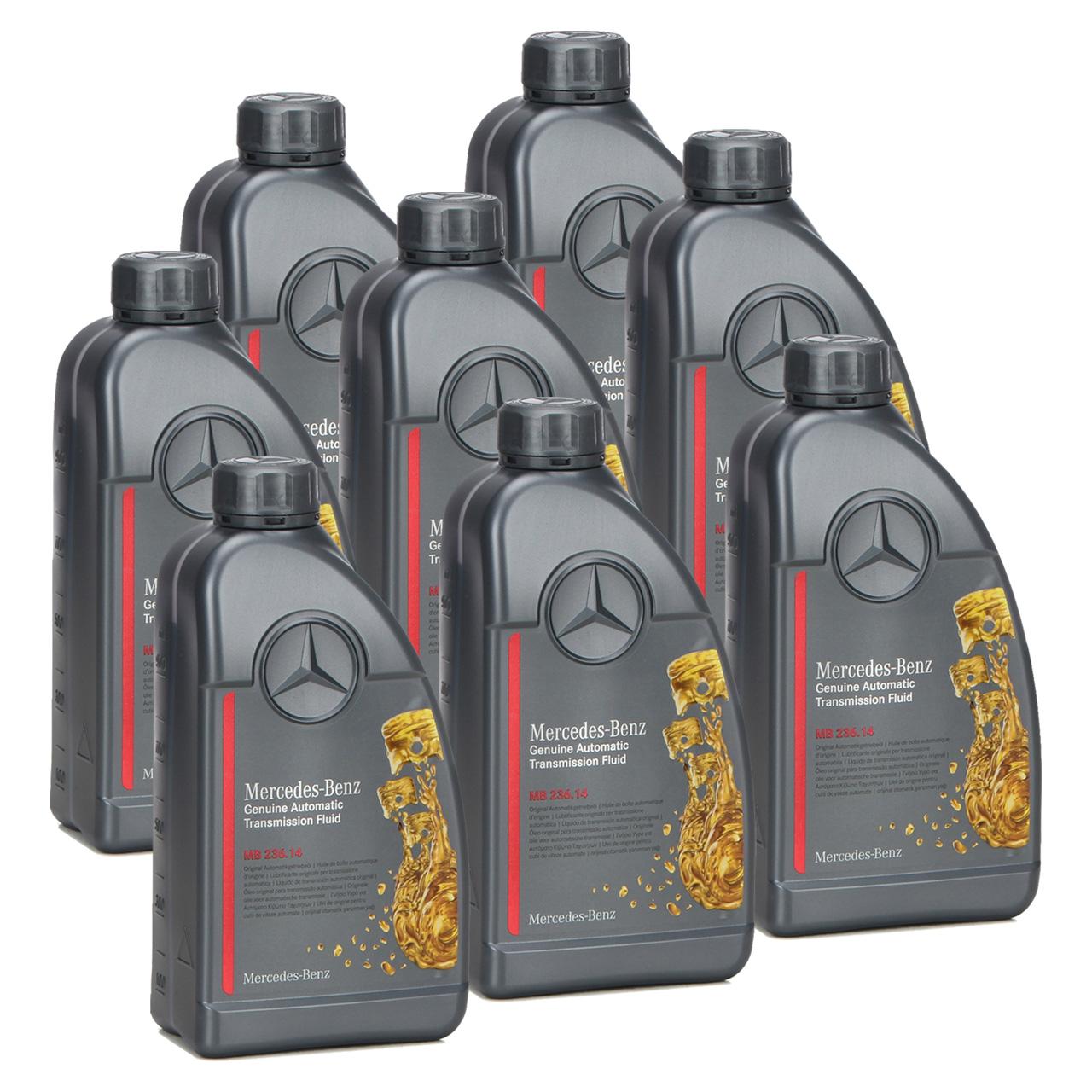 8L 8 Liter ORIGINAL Mercedes-Benz Automatikgetriebeöl MB 236.14 2 000989680511