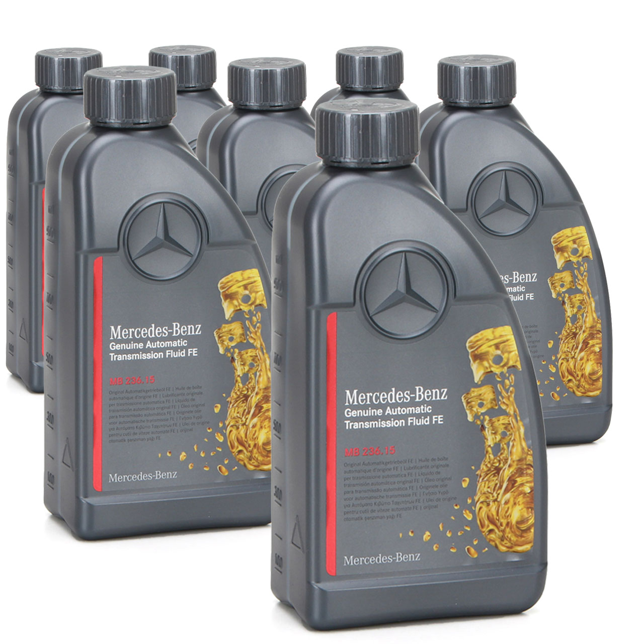 ORIGINAL Mercedes Automatikgetriebeöl MB 236.15 ATF 000989690511AULE 7 Liter