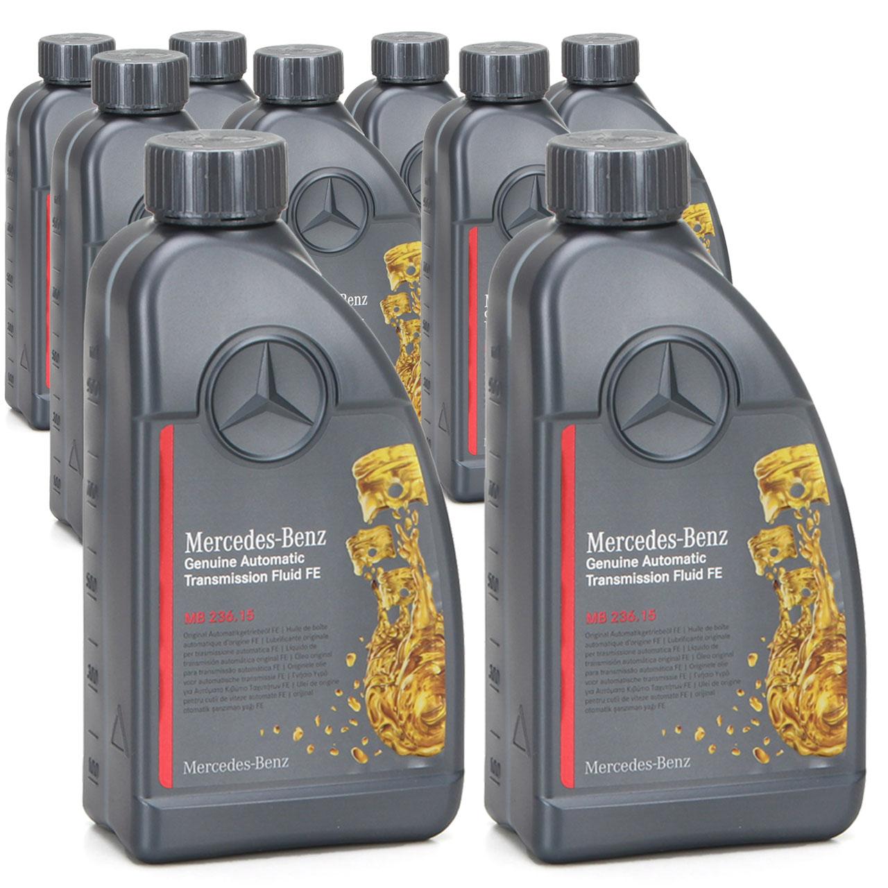 ORIGINAL Mercedes Automatikgetriebeöl MB 236.15 ATF 000989690511AULE 9 Liter