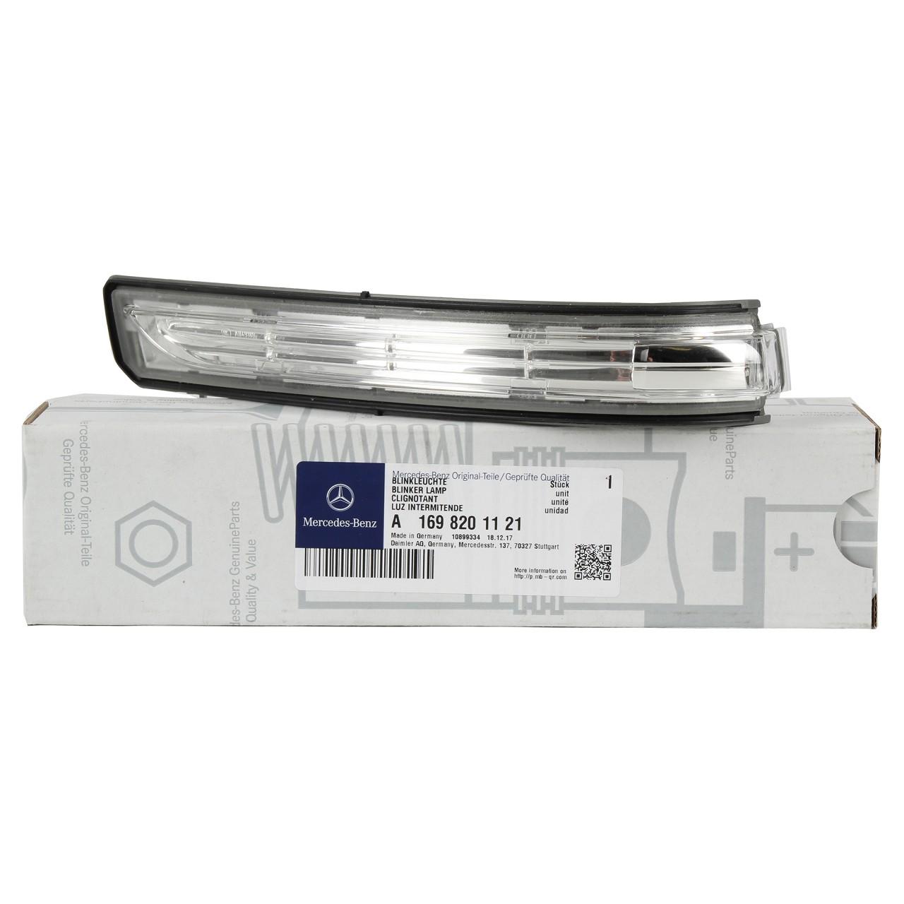 ORIGINAL Mercedes Blinkleuchte Außenspiegel LED W169 W245 links 1698201121