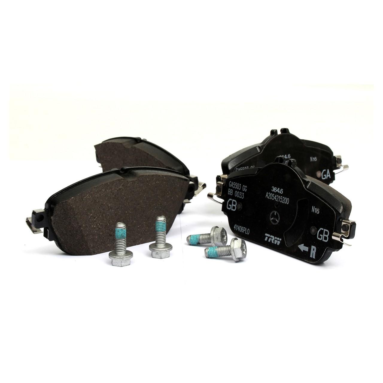 ORIGINAL Mercedes-Benz Bremsen Kit Bremsscheiben + Beläge + Wako W205 W213 vorne