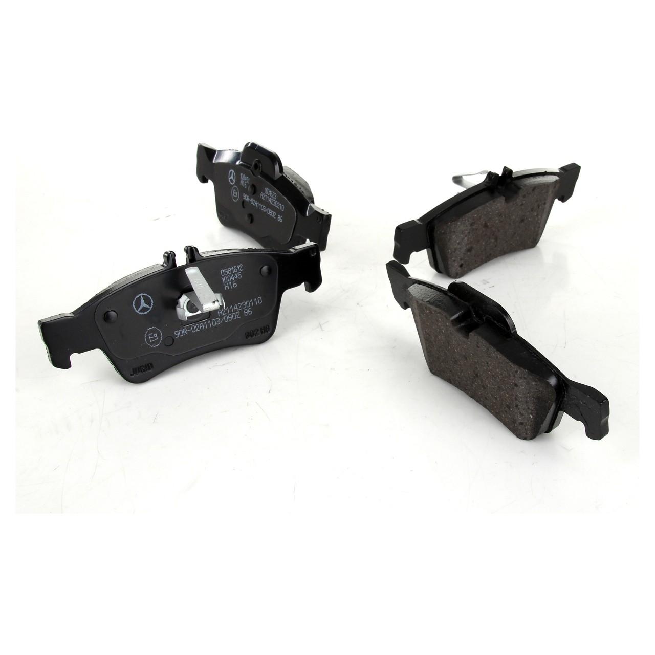 BREMBO Bremsbeläge für MERCEDES C218 C219 W211 W212 W220 W221 R230 R171 hinten