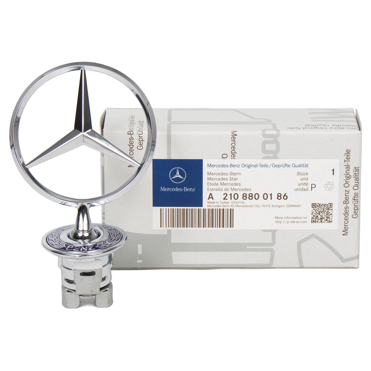 ORIGINAL Mercedes Benz Stern Emblem Motorhaube W202 W203 W210 S210 W211 S211 2108800186