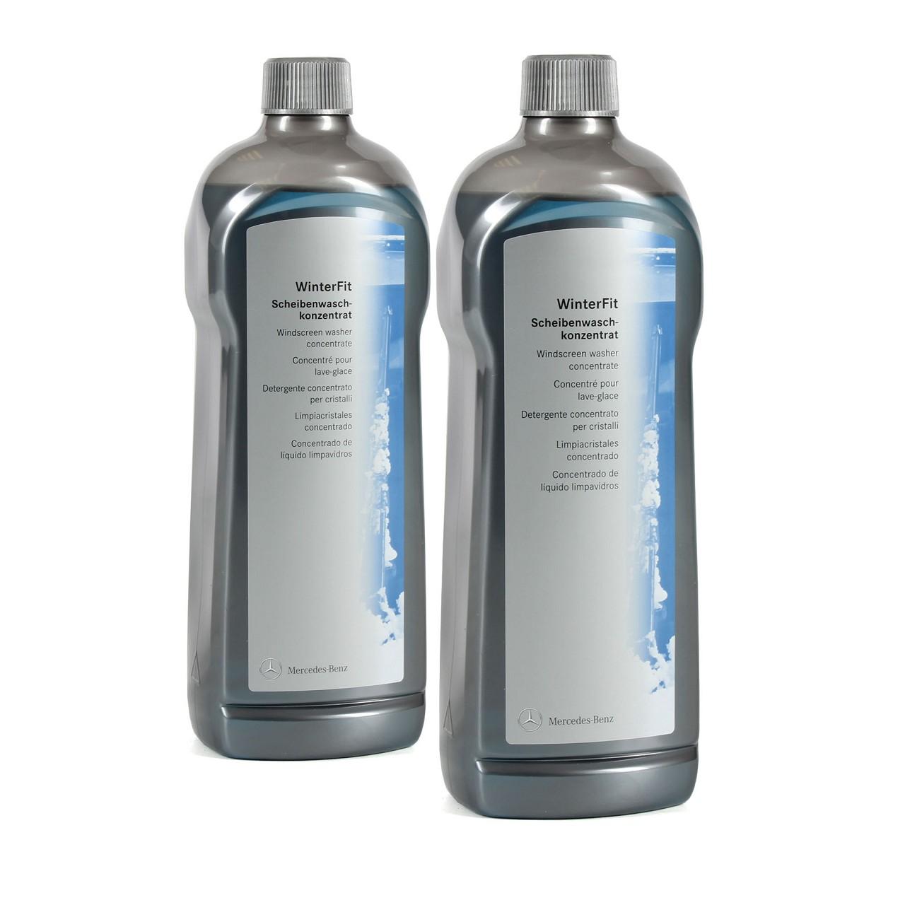 2x 1 Liter ORIGINAL Mercedes-Benz Scheibenwaschkonzentrat WinterFit 002986147109