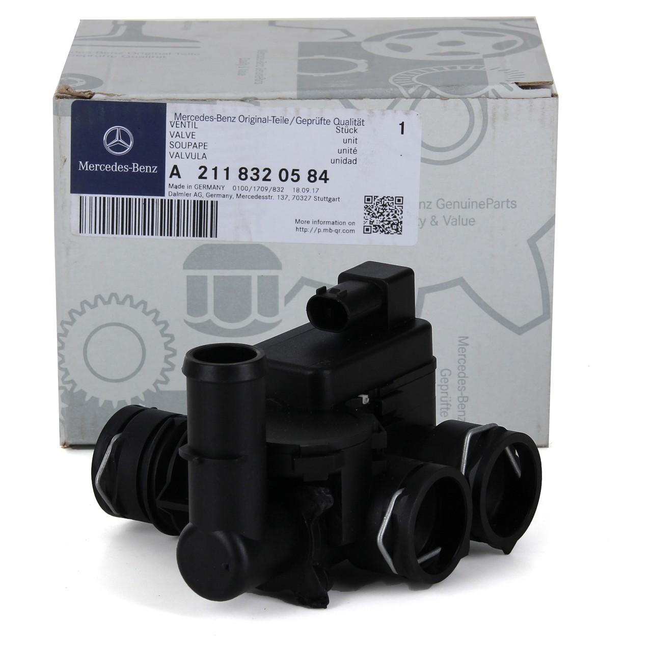 ORIGINAL Mercedes-Benz Kühlmittelregelventil Heizungsventil CLS C219 2118320584