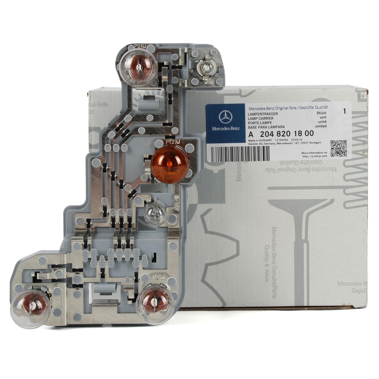 ORIGINAL Mercedes Lampenträger HINTEN RECHTS 2048201800 C-KLASSE T-Model S204