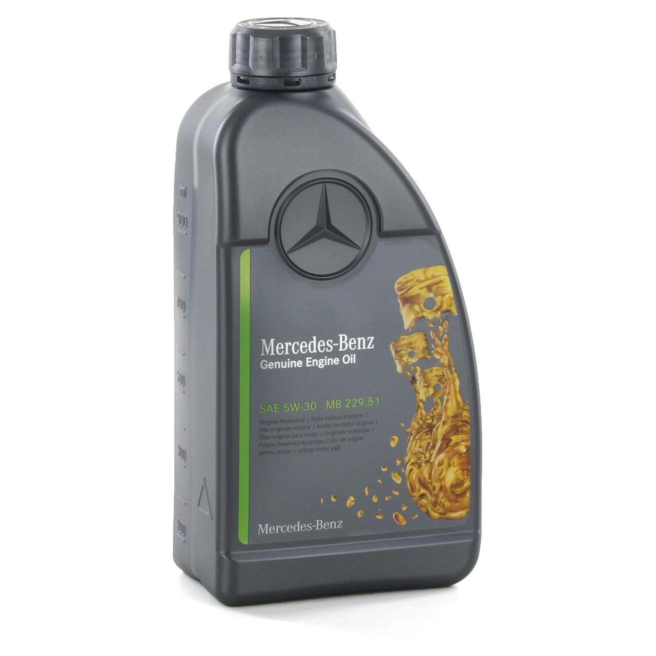 1L 1 Liter ORIGINAL Mercedes-Benz Motoröl Öl 5W-30 MB 229.51 000989940211ALEE