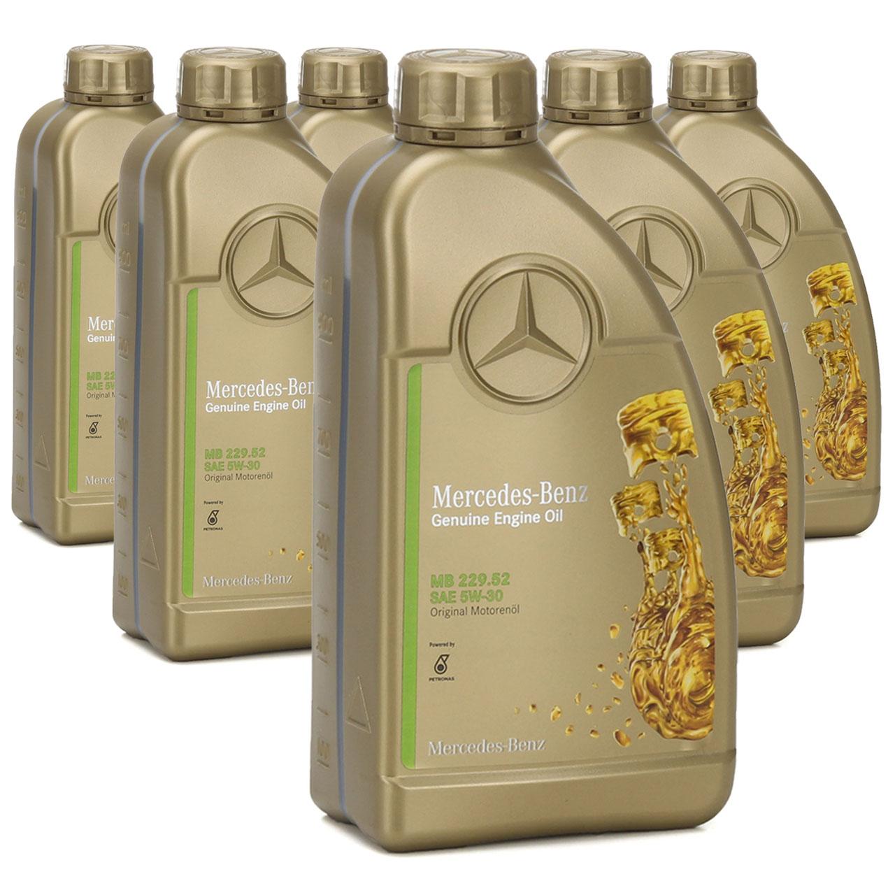 ORIGINAL Mercedes-Benz Motoröl ÖL 5W30 5W-30 MB 229.52 6L 6 Liter 0009899502AMED