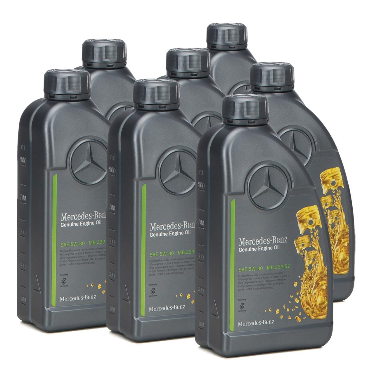 7L 7 Liter ORIGINAL Mercedes-Benz Motoröl ÖL 5W30 5W-30 MB 229.52 000989950211
