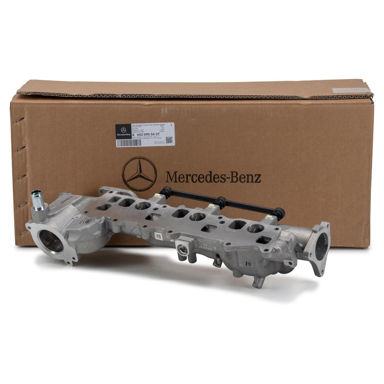 ORIGINAL Mercedes Ansaugkrümmer OM642 W211 C219 W463 W164 W166 6420905437