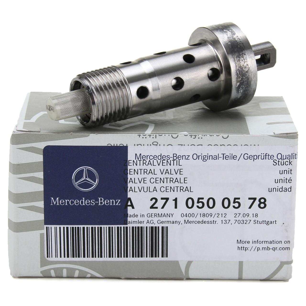 ORIGINAL Mercedes Zentralventil Nockenwellenversteller W204 W212 R172 2710500578
