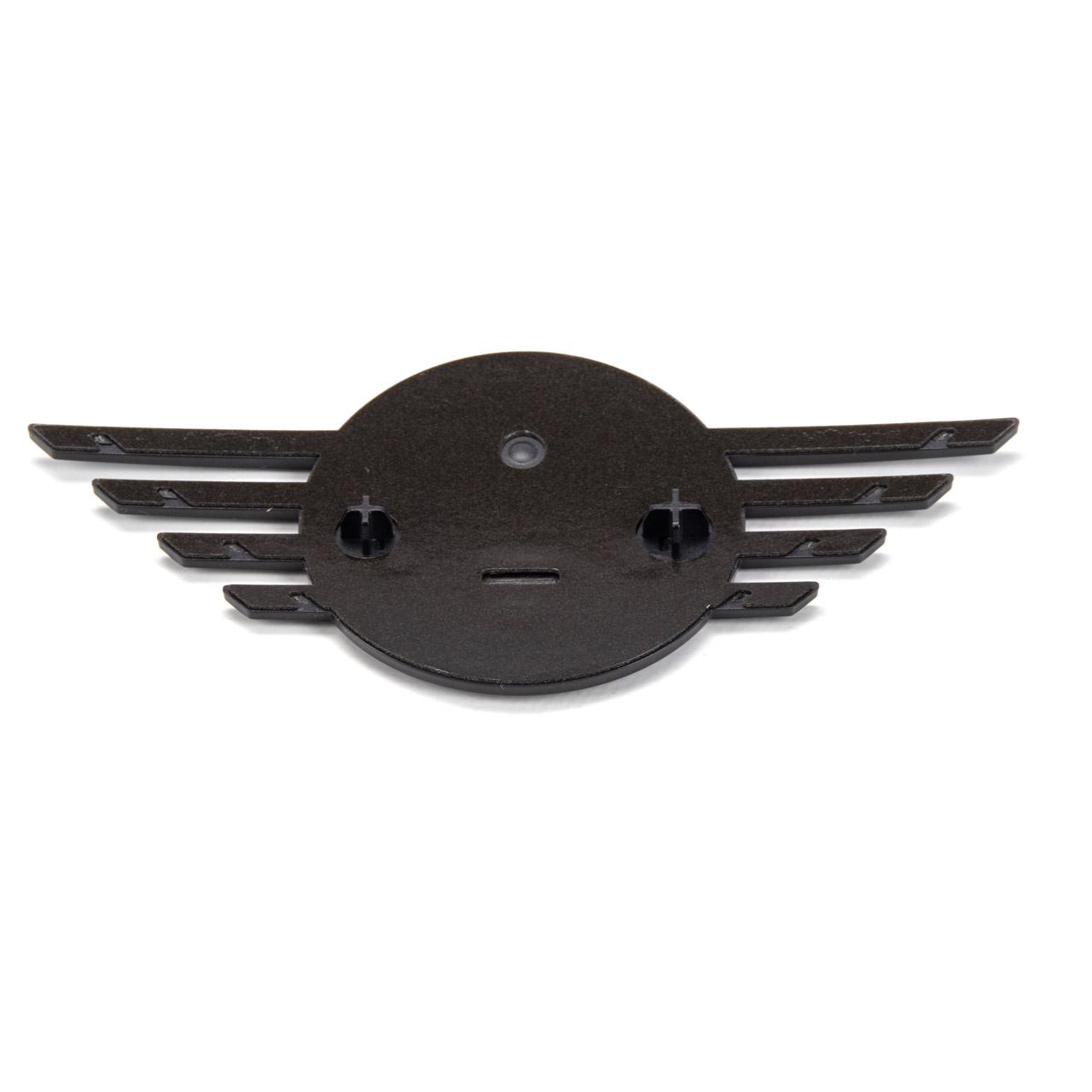 ORIGINAL Mini Logo Emblem Motorhaube SCHWARZ vorne Clubman F54 51142465239