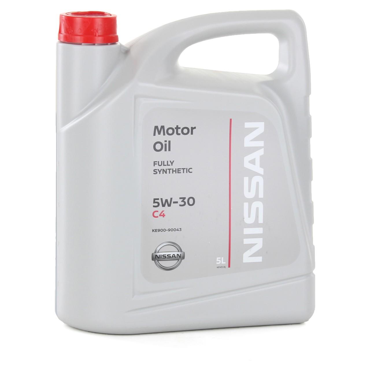 Original NISSAN 5W-30 Motoröl 5W30 DPF ACEA C4 DIESEL 5 Liter 5L KE900-90043