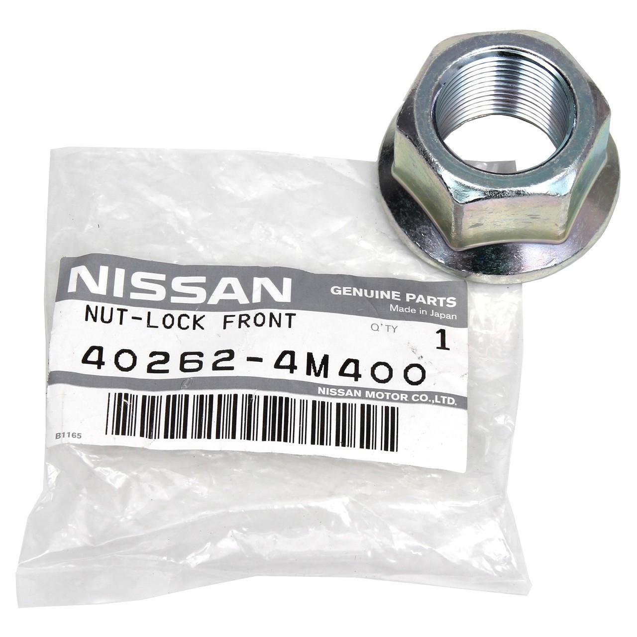 ORIGINAL Nissan Mutter Gelenkwelle Antriebswelle vorne 402624M400