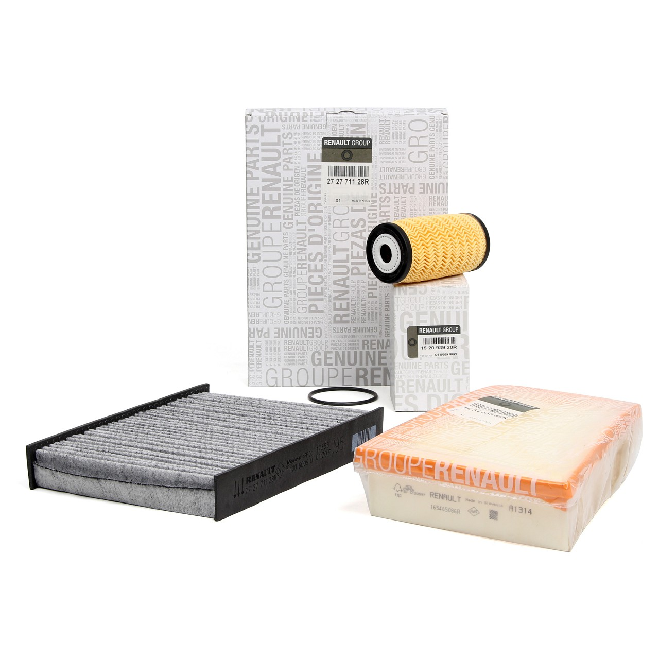 ORIGINAL Renault Inspektionskit Filterpaket Filterset Grand / Scenic III 1.6dCi