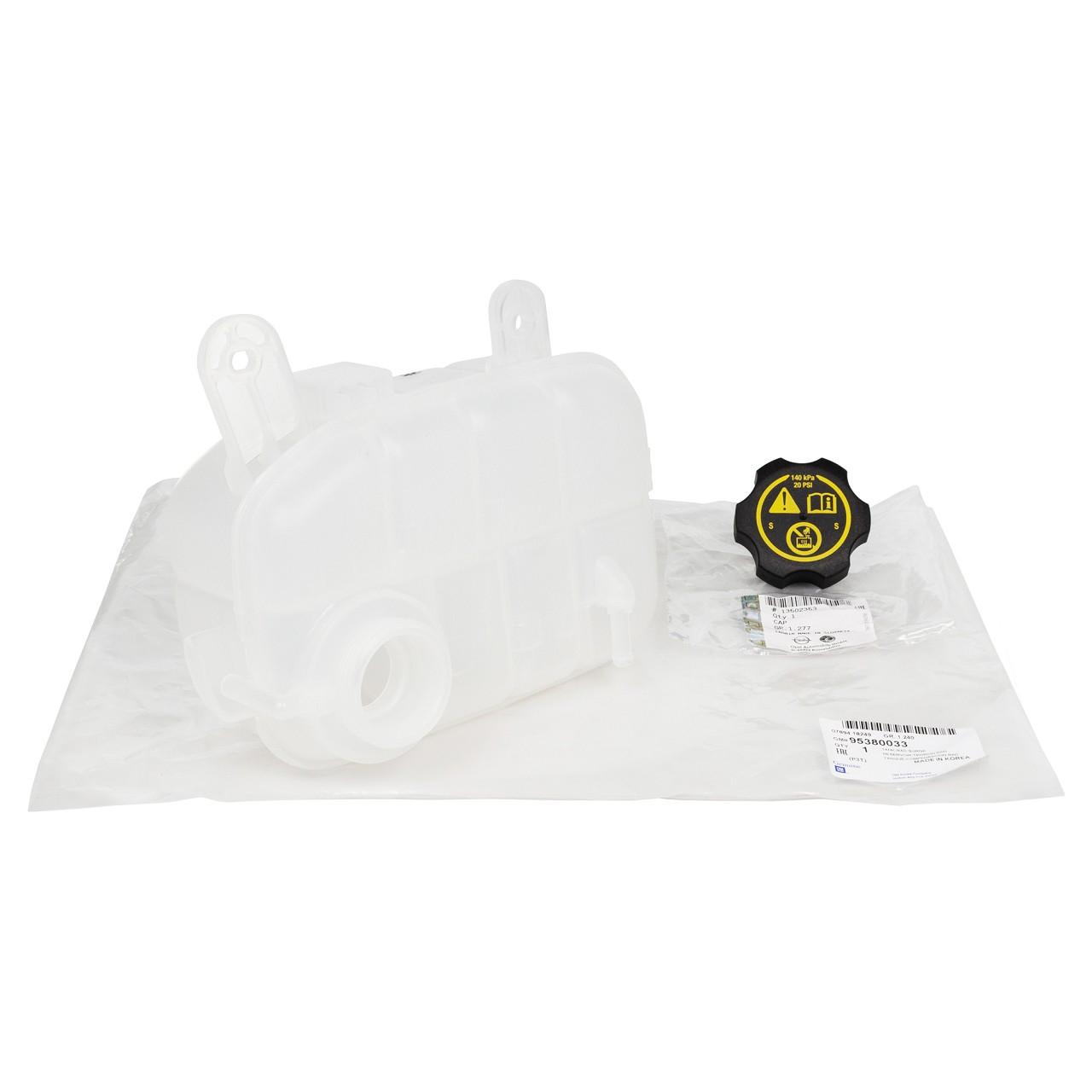 ORIGINAL Opel Ausgleichsbehälter Kühlmittel + Deckel MOKKA 95380033 + 13502353
