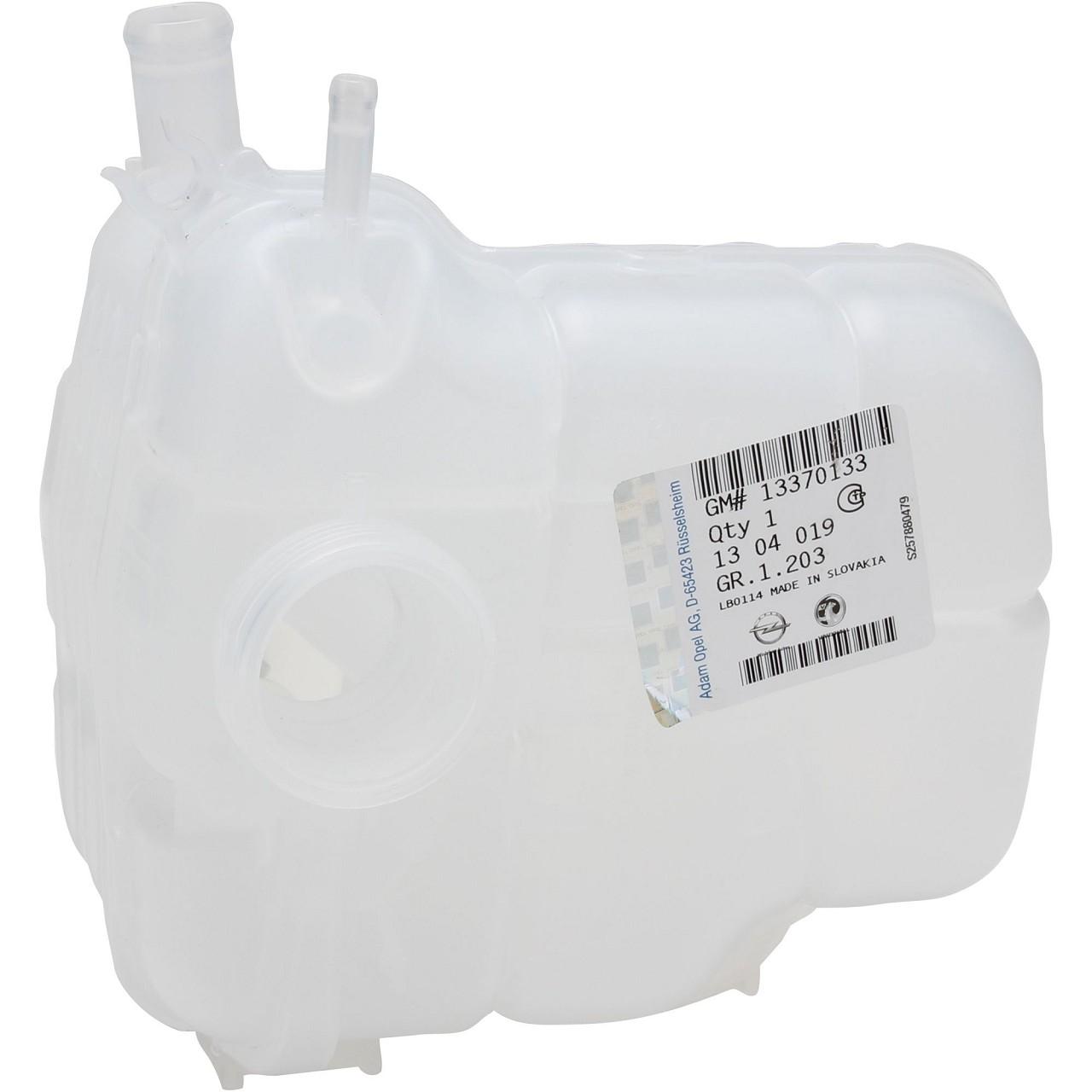 ORIGINAL GM Opel Ausgleichsbehälter Kühlmittel + Sensor Astra H J Cascada 1304019