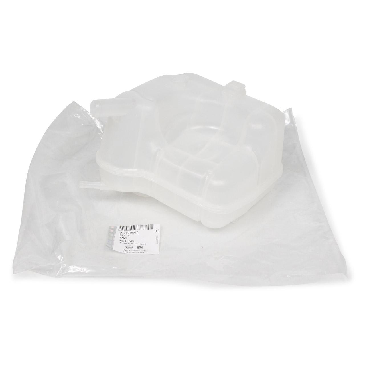 ORIGINAL Opel Ausgleichsbehälter Kühlmittelbehälter INSIGNIA A (G09) 39066025