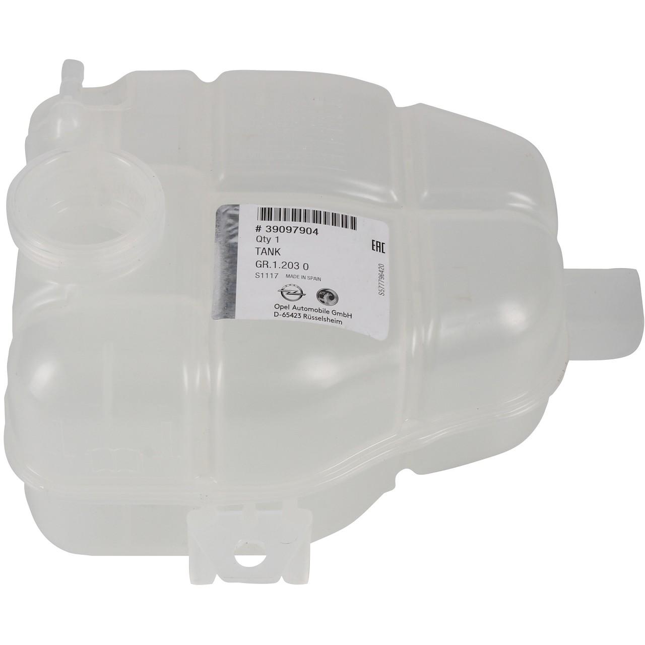 ORIGINAL GM Opel Ausgleichsbehälter Kühlmittelbehälter MERIVA B 39097904