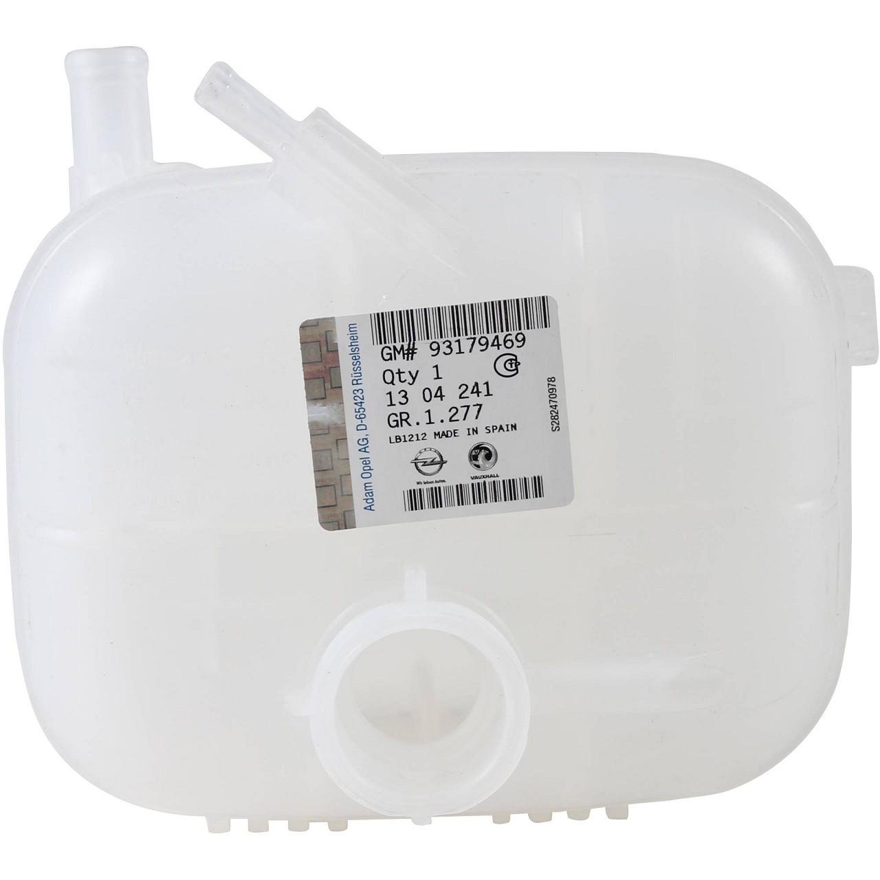 ORIGINAL GM Opel Ausgleichsbehälter Kühlmittelbehälter ASTRA H 1304241